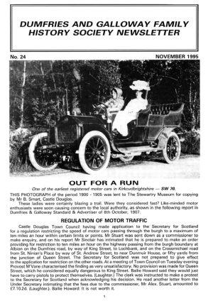 DGFHS Newsletter Vol. 024 199511