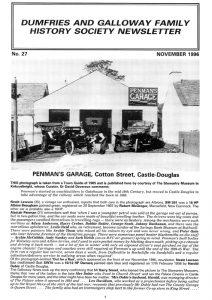 DGFHS Newsletter Vol. 027 199611