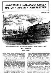 DGFHS Newsletter Vol. 003 198811