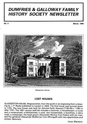 DGFHS Newsletter Vol. 004 198903
