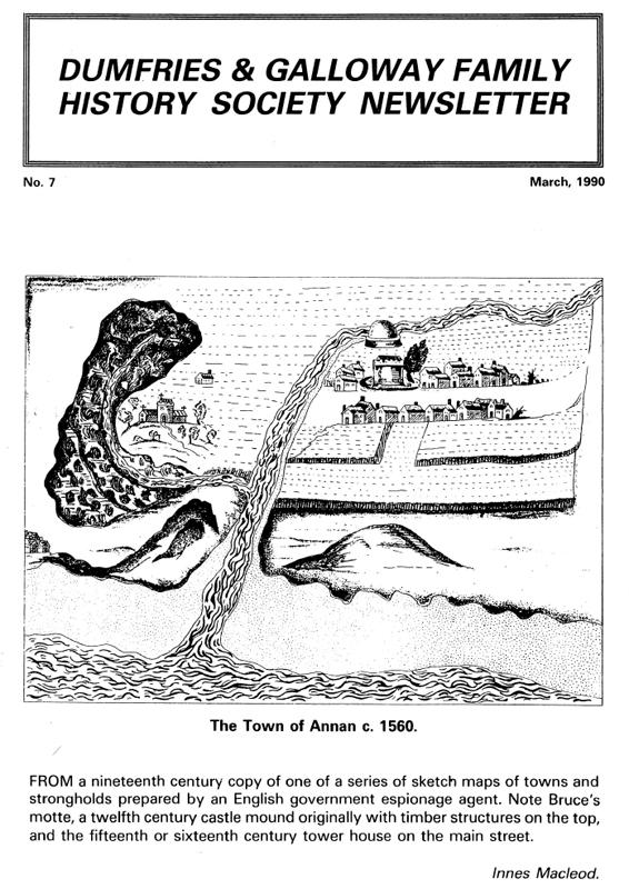 DGFHS Newsletter Vol. 007 199003