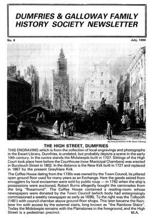 DGFHS Newsletter Vol. 008 199007