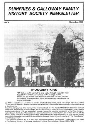 DGFHS Newsletter Vol. 009 199011