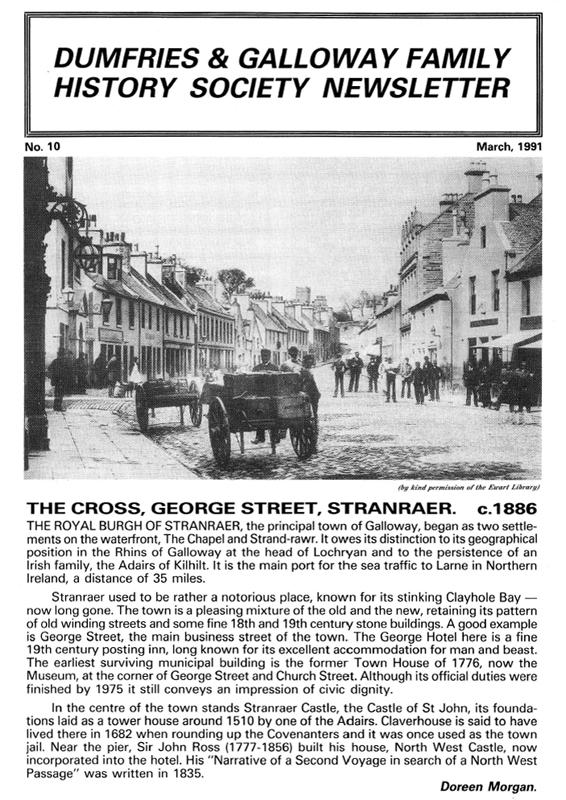 DGFHS Newsletter Vol. 010 199103