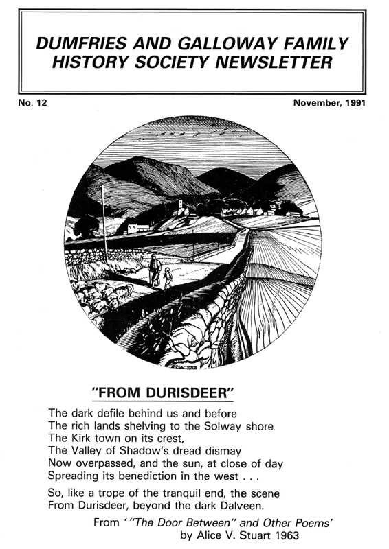 DGFHS Newsletter Vol. 012 199111