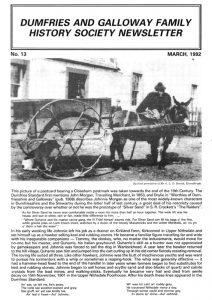DGFHS Newsletter Vol. 013 199203