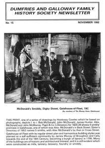 DGFHS Newsletter Vol. 015 199211
