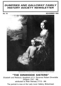 DGFHS Newsletter Vol. 018 199311