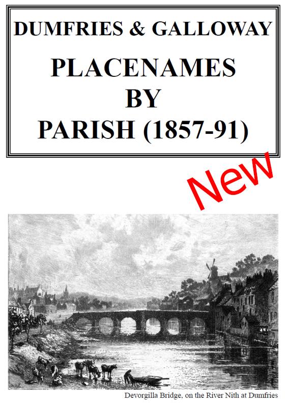 Dumfries & Galloway Placenames 2021