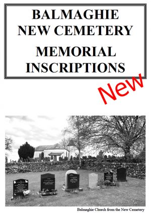 Balmaghie New Cemetery MIs 2021 NEW